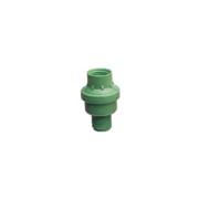 Válvula reguladora de pressão e vazão - verde - Sanigran