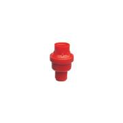 Válvula reguladora de pressão e vazão - vermelha - Sanigran